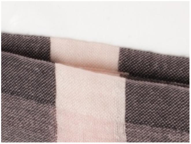 バーバリー本物の縫製