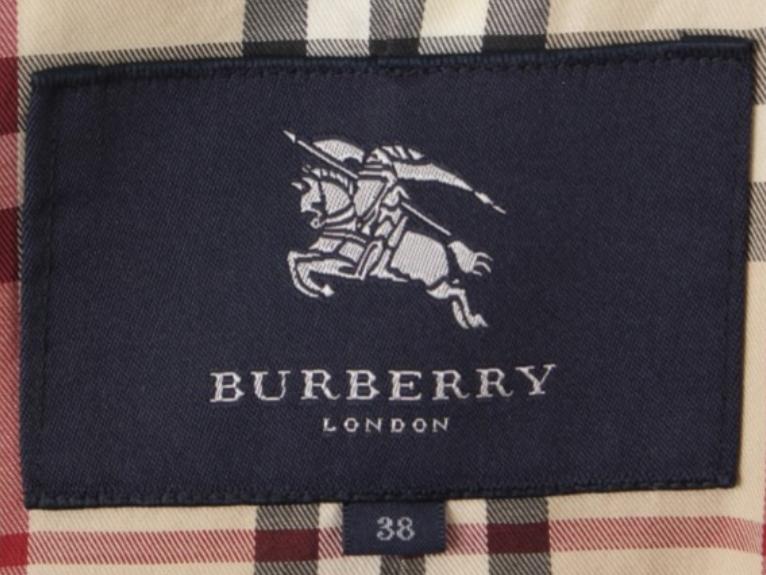 バーバリー本物のロゴ