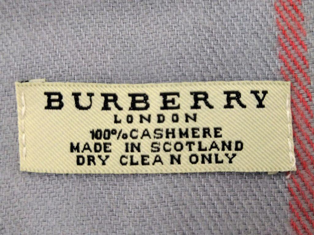 バーバリー偽物のロゴ