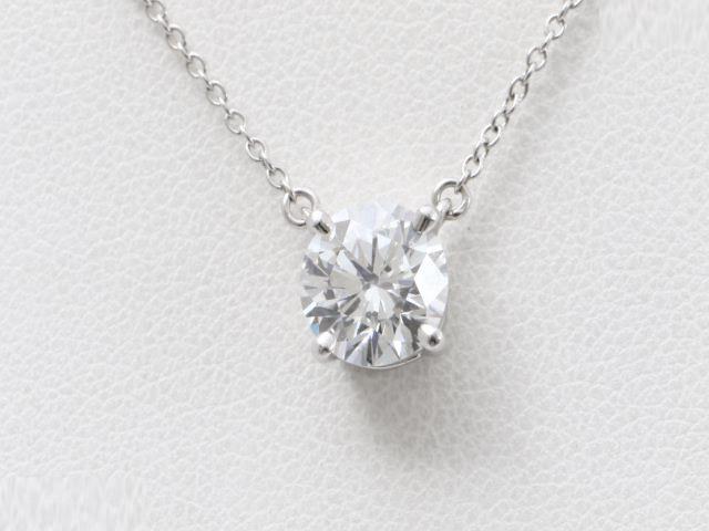 ティファニー買取ダイヤモンドネックレス