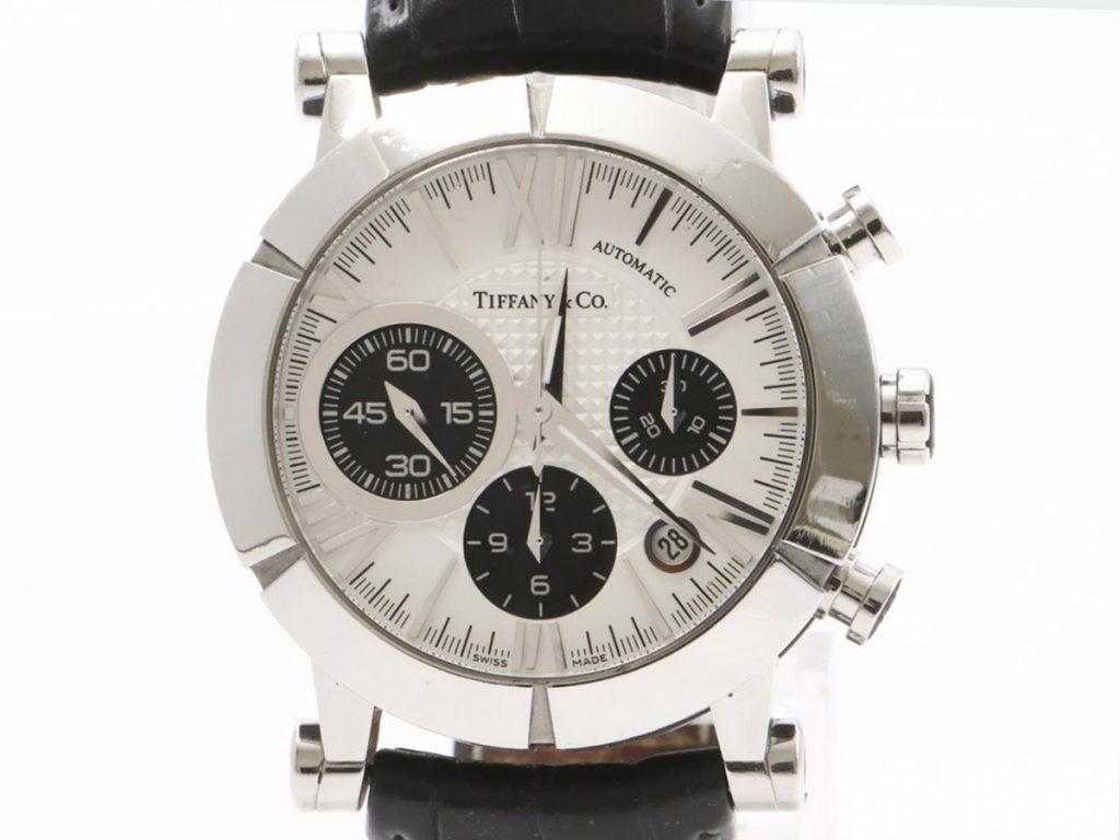 ティファニー買取アトラスクロノグラフ腕時計