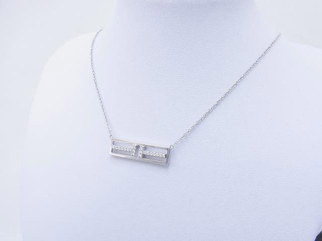 ティファニー買取Tiffany-T Twoオープンネックレス