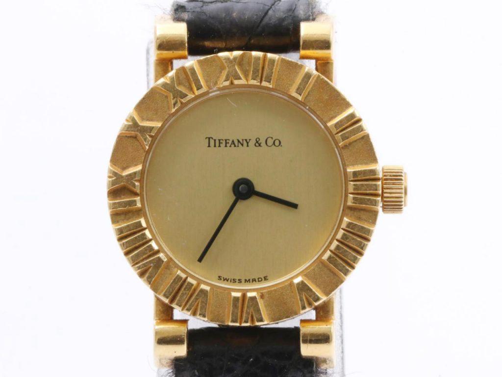 ティファニー買取アトラス腕時計