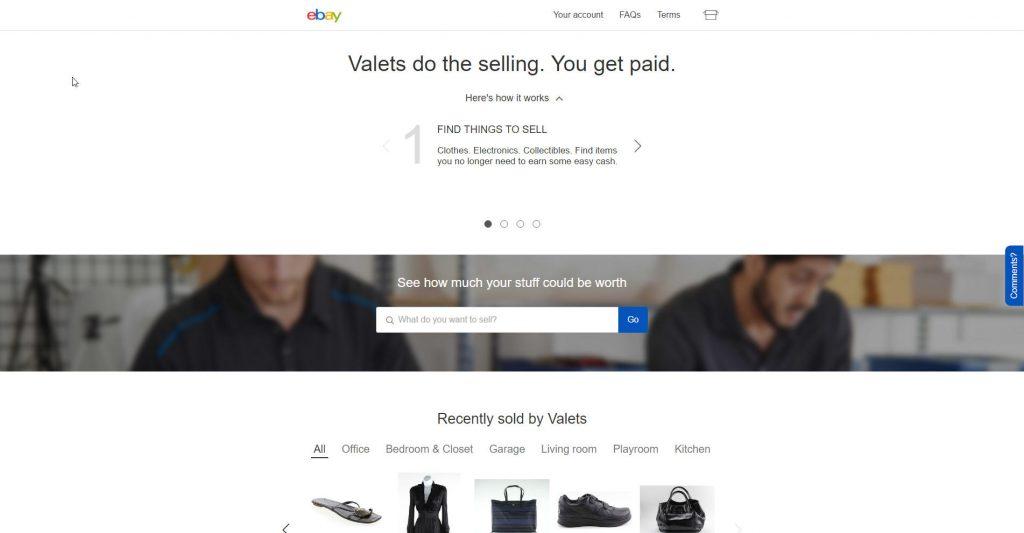 eBayヴァレット(eBay Valet)