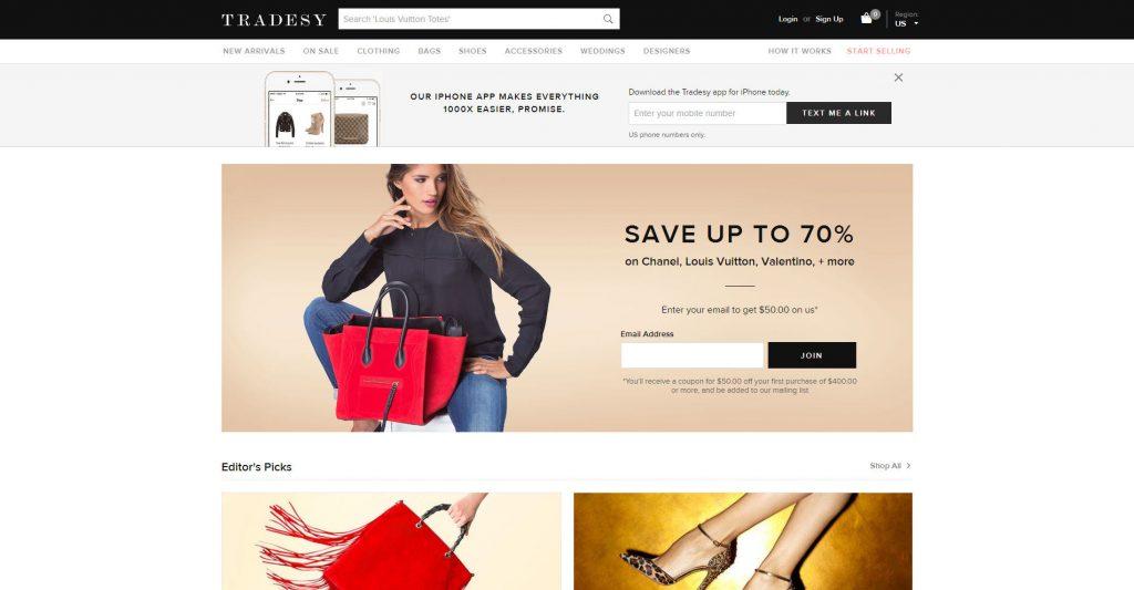 Tradesy(トレードシー)