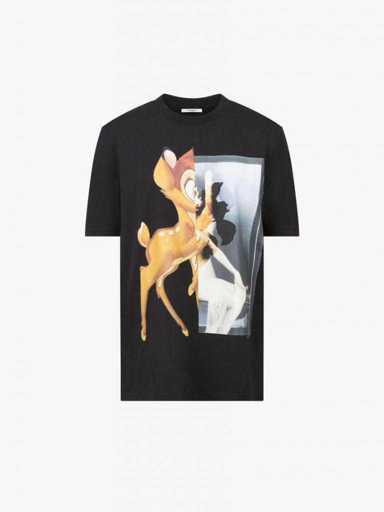 ジバンシー買取価格相場:バンビプリント Tシャツ