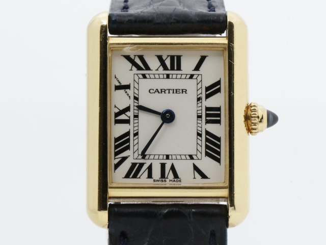 カルティエ タンク ルイの腕時計