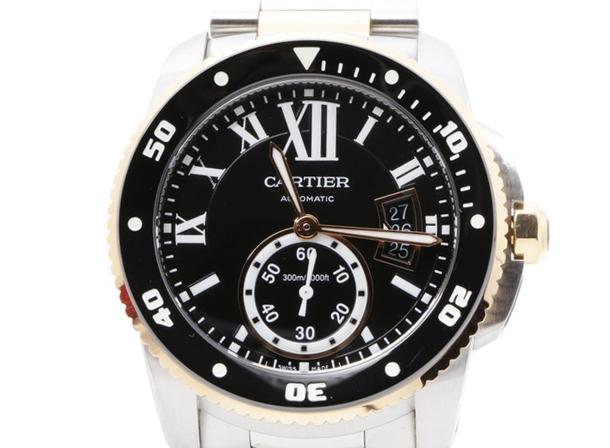 カルティエ ガリブルドゥカルティエの腕時計