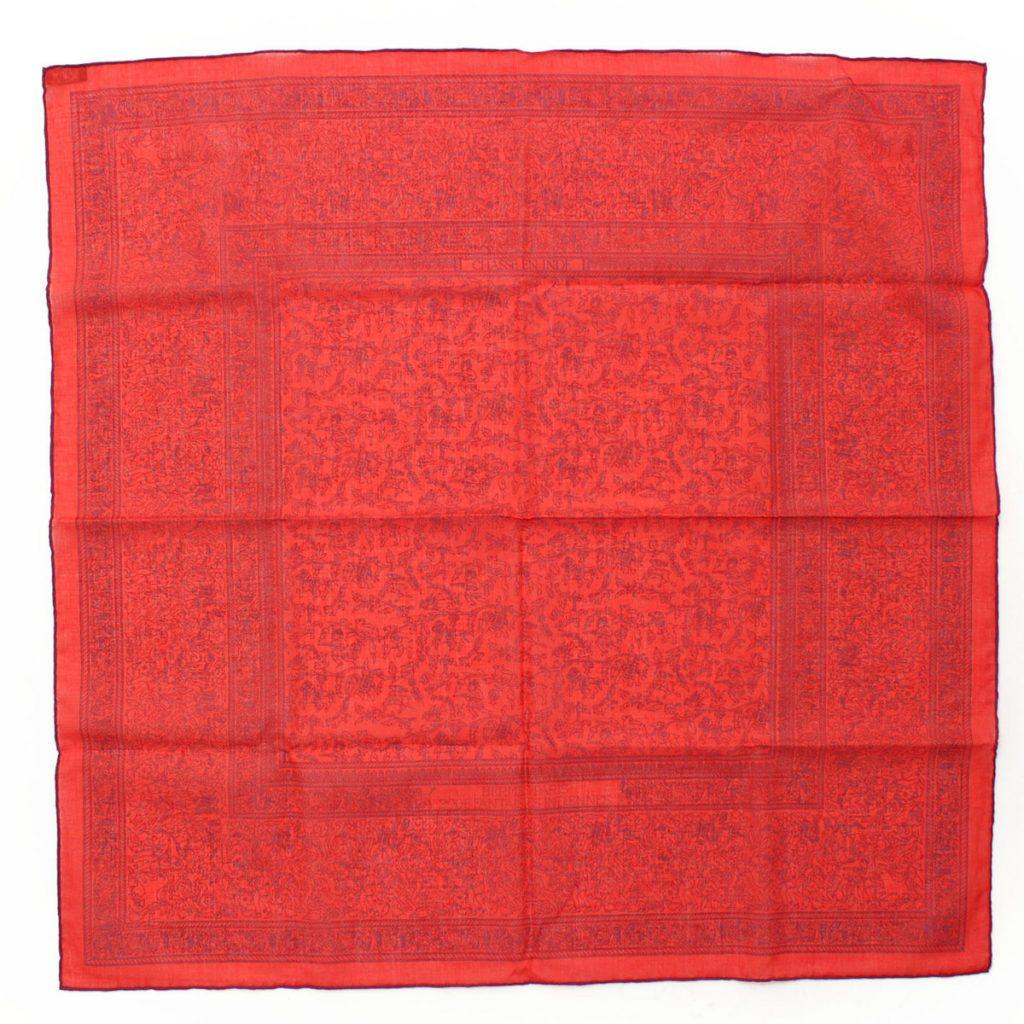 エルメス カレ70 コットンスカーフ