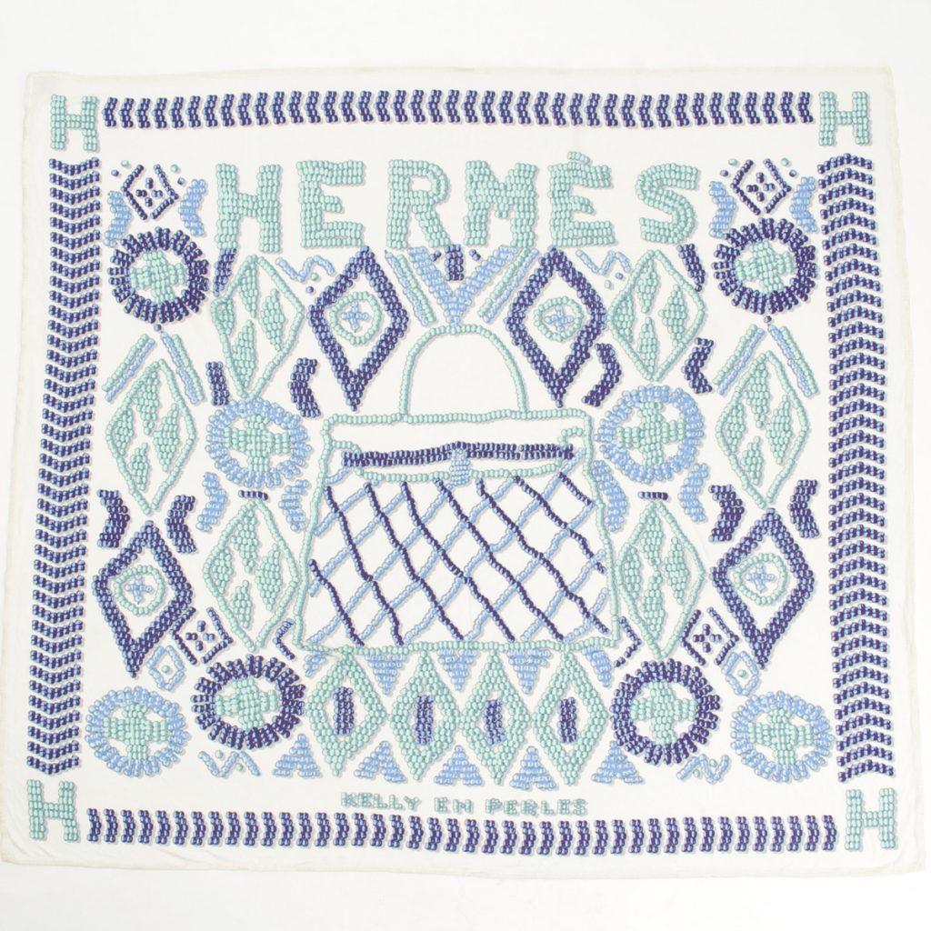 エルメス スムーズカレ90 シルクスカーフ