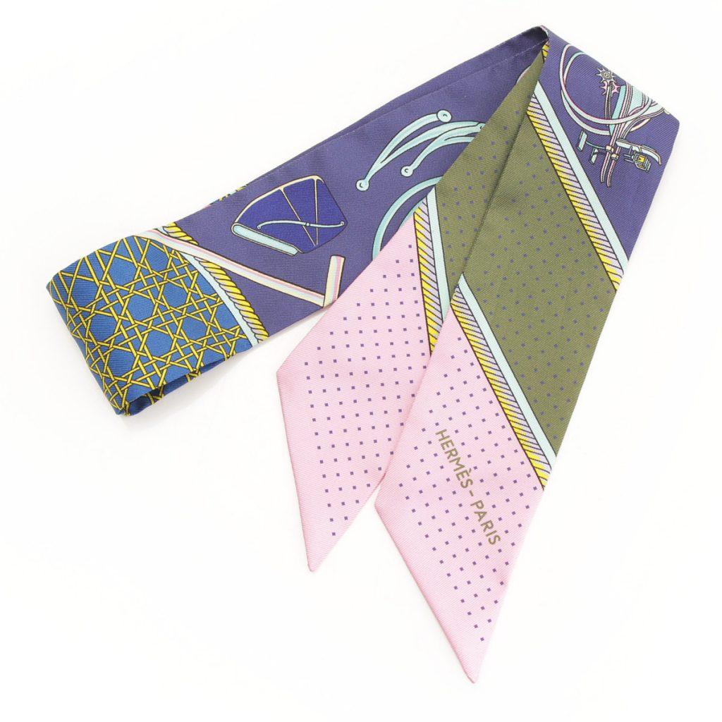 エルメス ツイリー シルクスカーフ