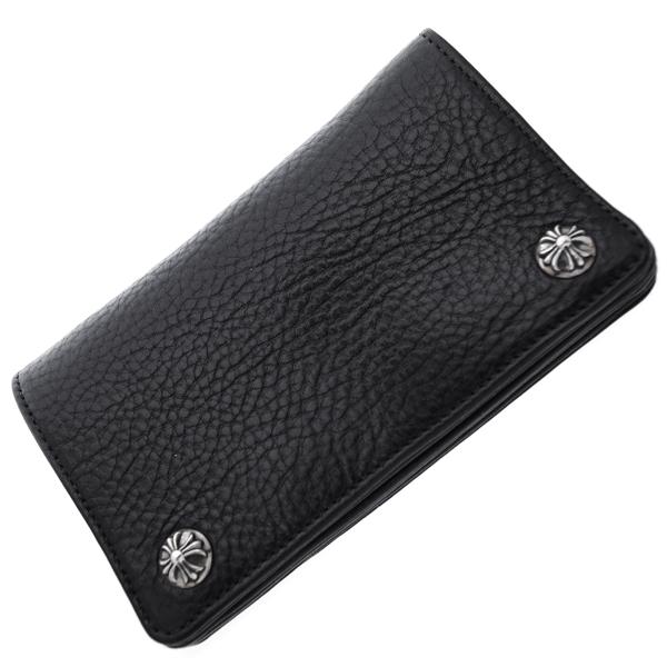 1ZIPウォレット ヘビーレザー クロスボールボタン 財布