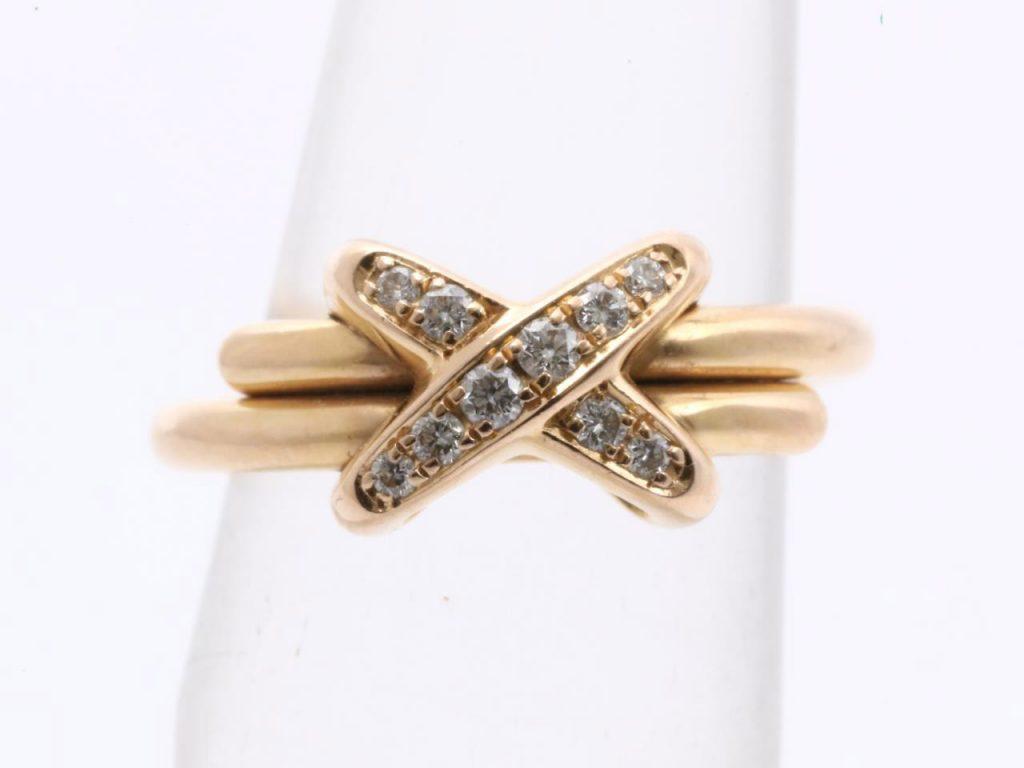 リアンドゥショーメダイヤモンドリング