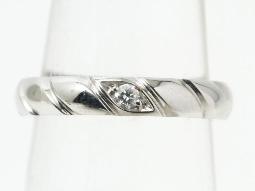 ショーメダイヤモンドリング
