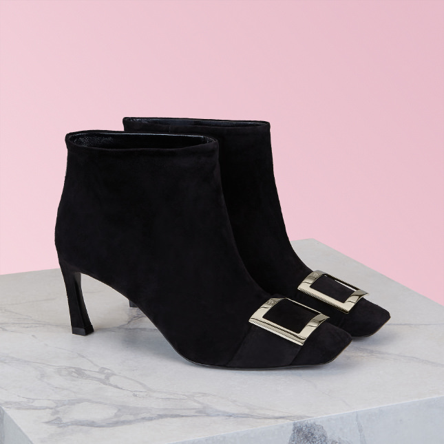 Trompette Ankle Boot in Leather
