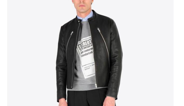 マルジェラ買取人気アイテム:八の字ライダースジャケット