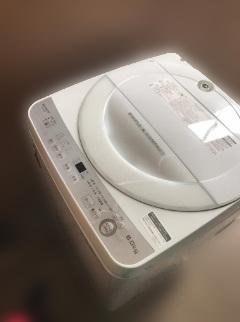 シャープ 全自動洗濯機 ES-GE6B 2018年製