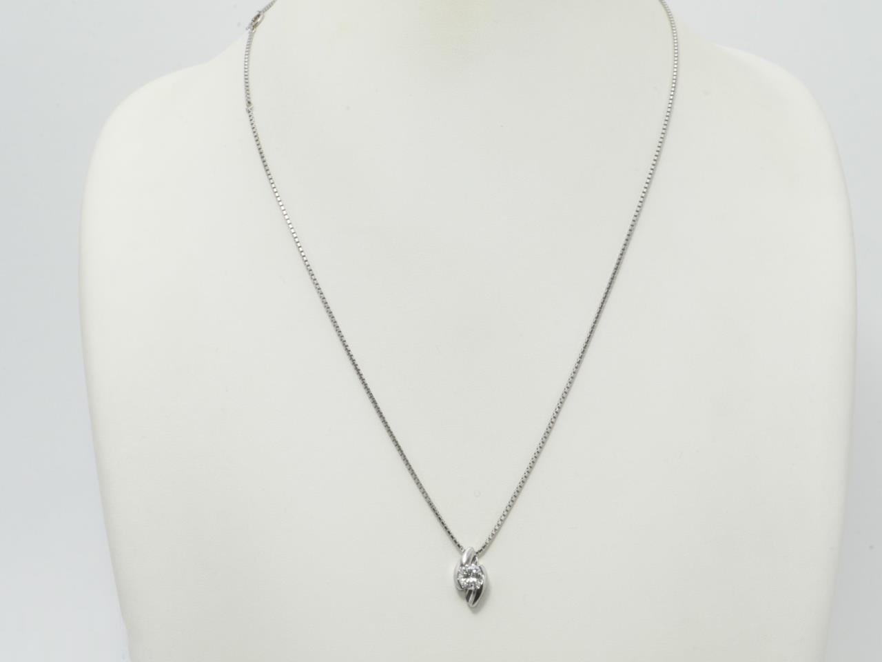 プラチナ ダイヤモンドネックレス Pt900