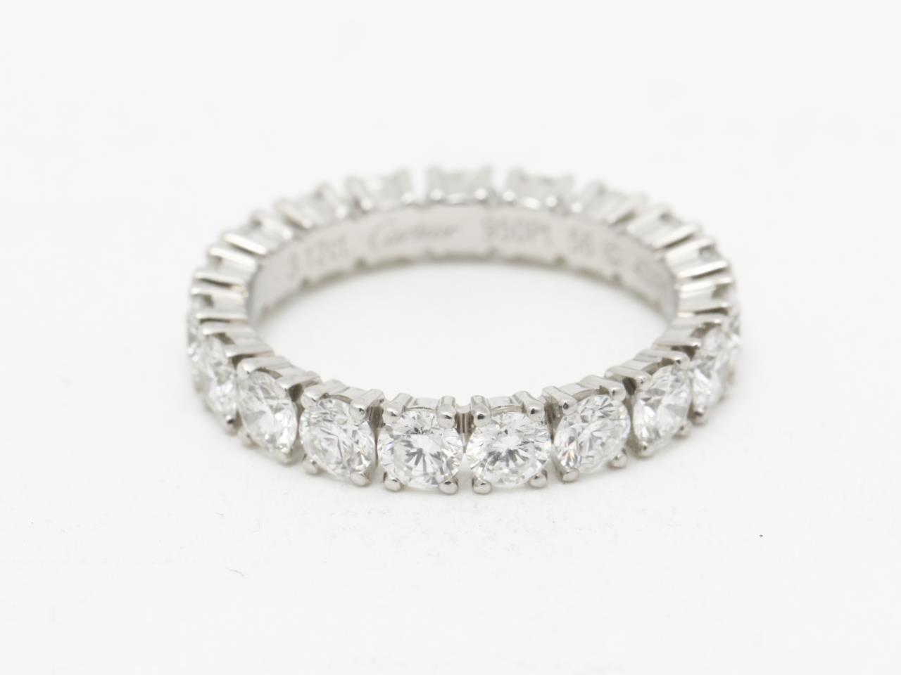 カルティエ エタニティ ダイヤモンドリング