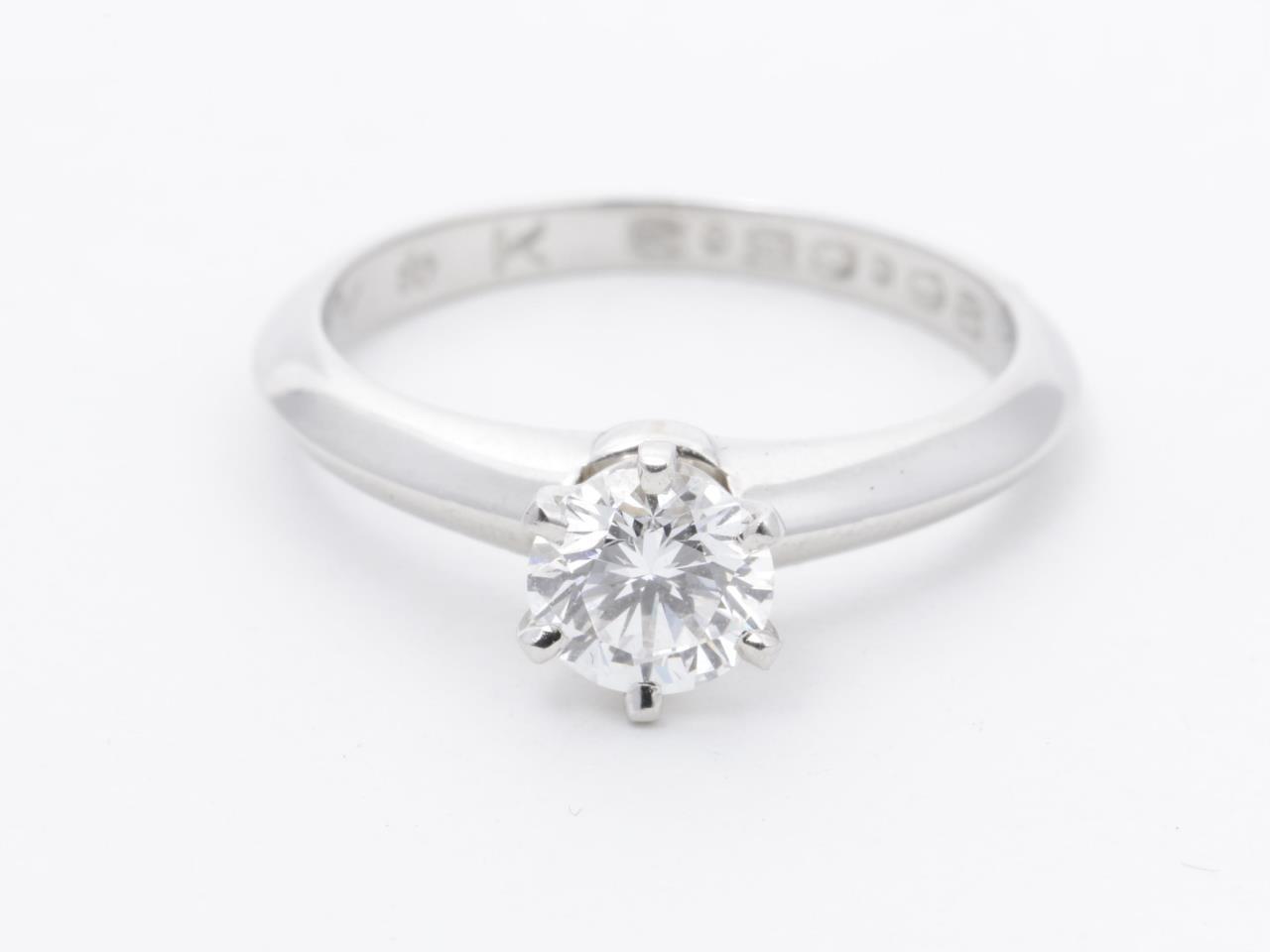 ティファニー ダイヤモンドリング