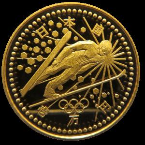 長野オリンピック記念1万円金貨