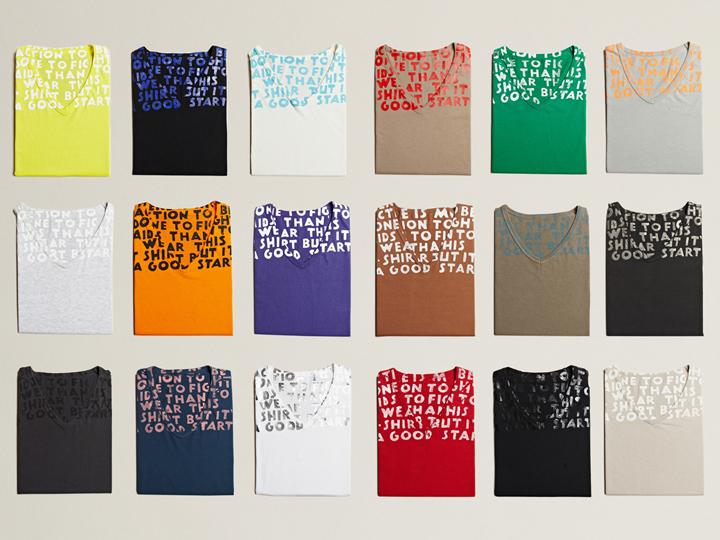 マルジェラ買取人気アイテム:エイズTシャツ