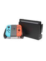 【箱説なし】Nintendo Switch Joy-Con(L) ネオンブルー/(R) ネオンレッド(HACSKABAA)(コントローラー×2、ACアダプター、ドック、グリップ、HDMIケーブル付)ゲーム