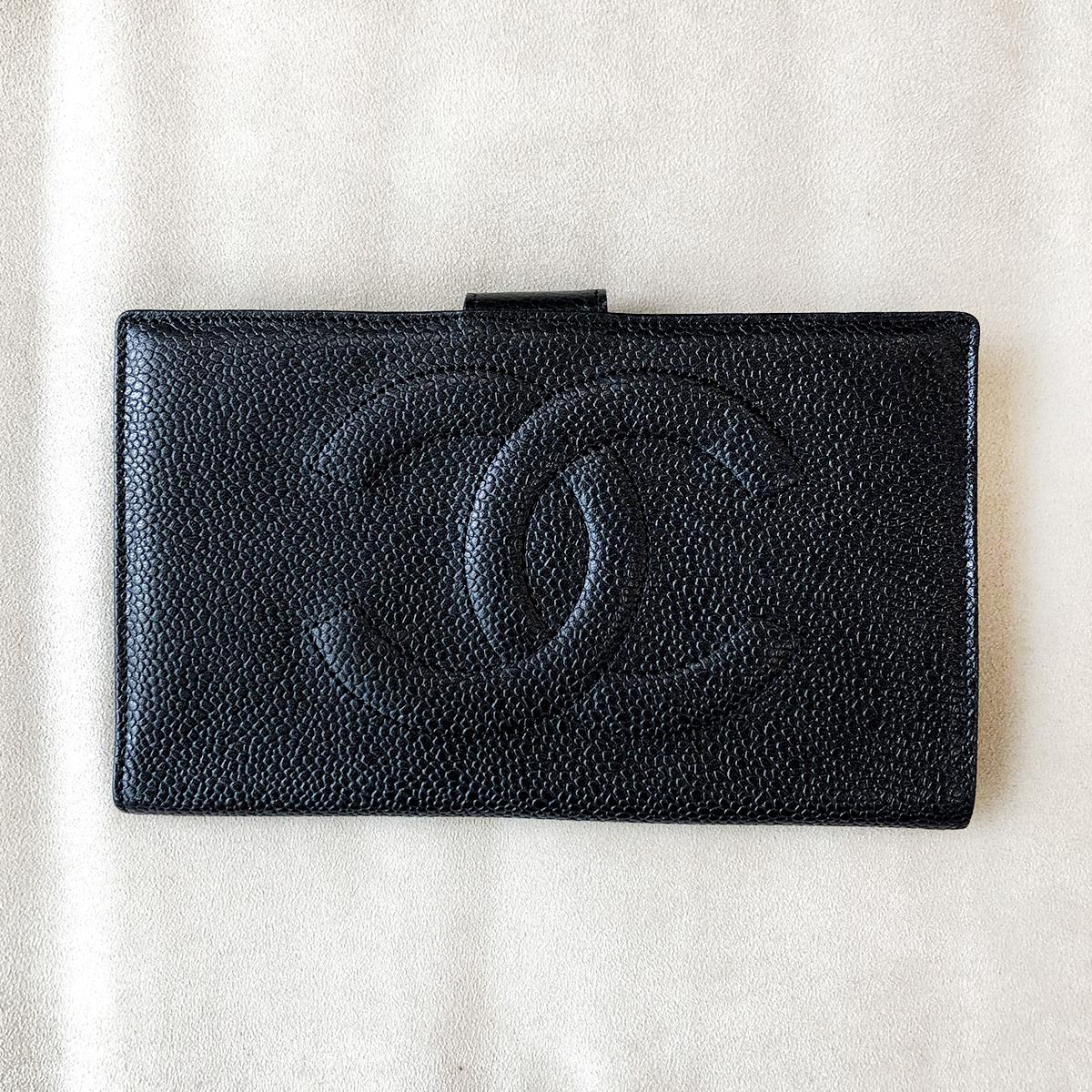 シャネル 偽物 長財布