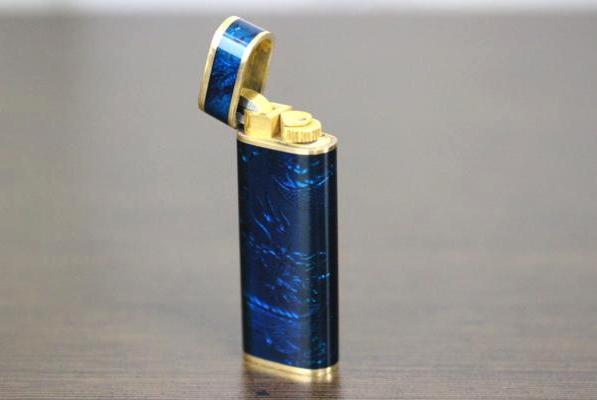 ライター買取価格相場 カルティエ ロイキング 七宝ライター